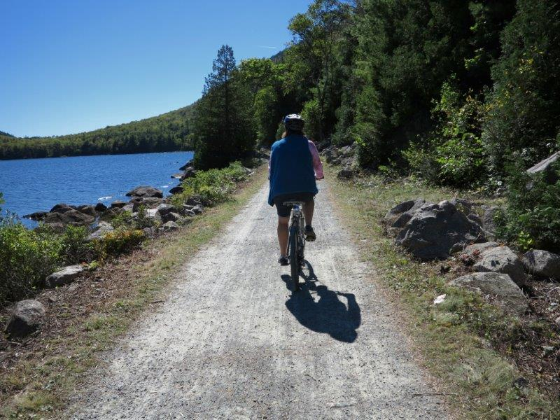 Acadia's Eagle Lake bike trail tips