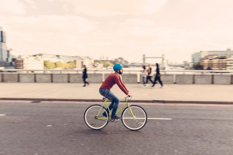safe cycling in london