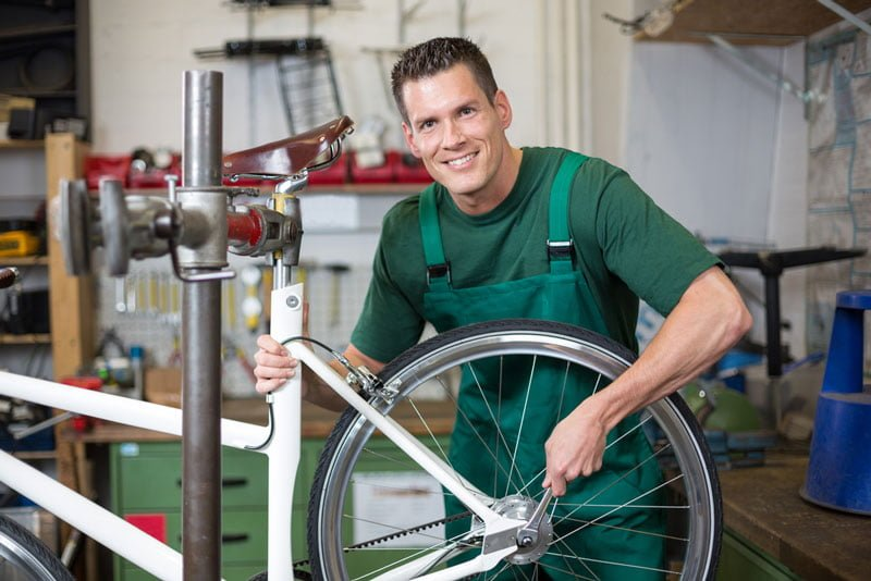 becoming bicycle mechanic