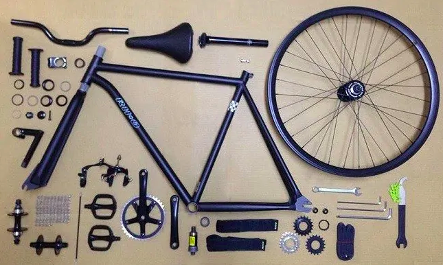 Anatomy of Fixed Gear Bicycles